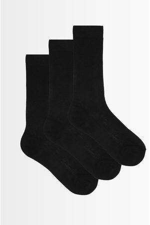 Raey Pack Of Three Silk Socks - Womens