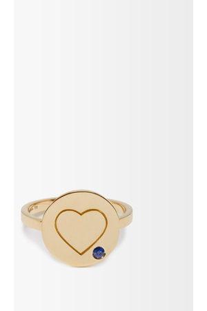Aurélie Bidermann Women Rings - Heart Sapphire & Ring - Womens