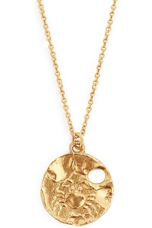 Alighieri Cancer -plated Necklace - Womens