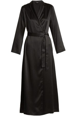 La Perla Silk Satin Robe - Womens