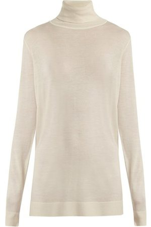 Raey Roll-neck Cashmere Sweater - Womens - Ivory