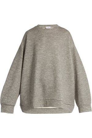 Raey Crew Neck Cashmere Blend Sweatshirt - Womens
