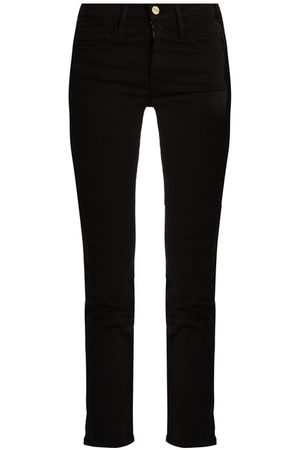 Frame Le High High-rise Cropped Straight-leg Jeans - Womens