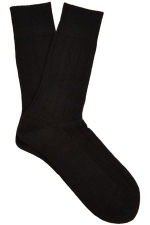 Falke Lhasa Wool And Cashmere Blend Socks - Mens