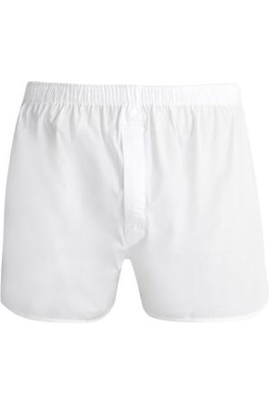 Sunspel Classic Cotton Boxer Shorts - Mens