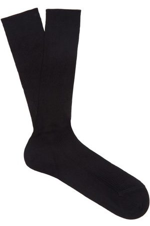 Raey Set Of Three Silk Socks - Mens
