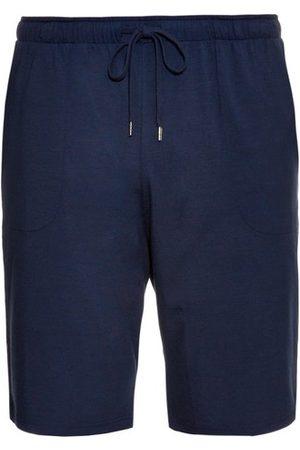 DEREK ROSE Men Pyjamas - Basel Jersey Shorts - Mens - Navy