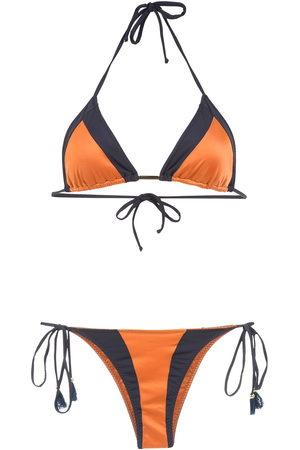 Brigitte Color block bikini set