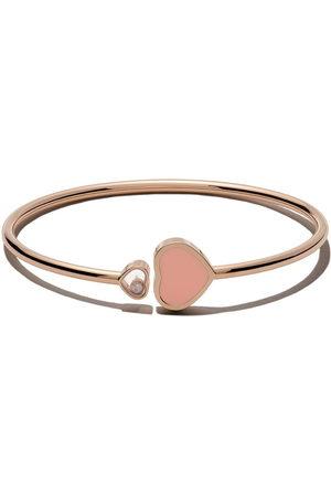Chopard 18kt rose gold Happy Hearts diamond bangle