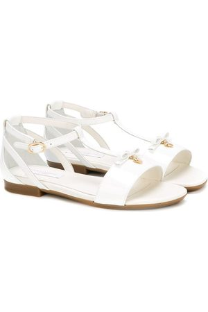 Dolce & Gabbana Girls Sandals - Strappy flat sandals