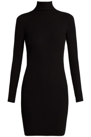 Wolford Rib-knitted High-neck Dress - Womens