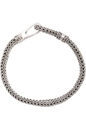 John Hardy Silver Classic Chain Bracelet with Hook Clasp