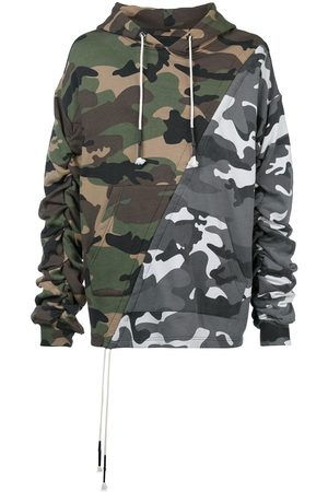 MOSTLY HEARD RARELY SEEN Mixed camouflage hoodie