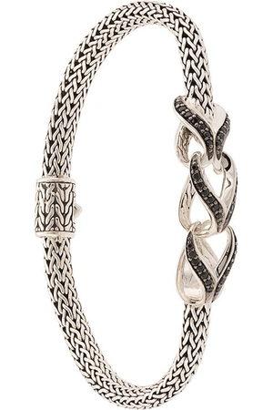 John Hardy Asli Link Station sapphire and spinel bracelet