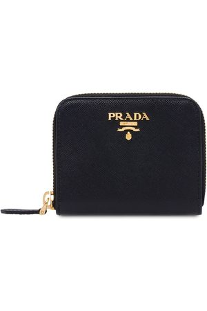 Prada Zip around coin purse