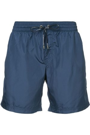 Dolce & Gabbana Men Board Shorts - Drawstring fitted swim-shorts