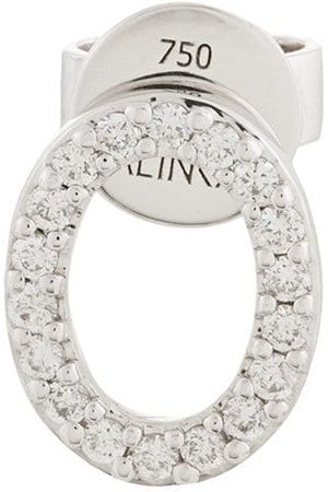 ALINKA 18kt white gold CLOUD diamond stud