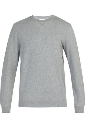 Sunspel Crew Neck Cotton Sweatshirt - Mens