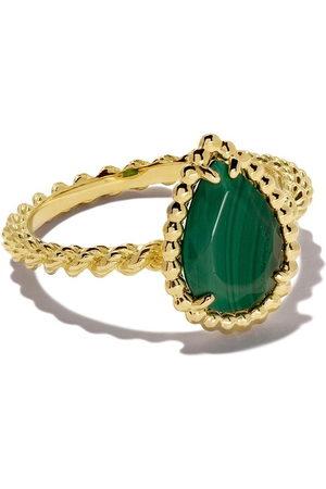 Boucheron Serpent Bohème Ring malachite