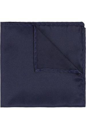 Yd. Matte Satin Pocket Square Navy One