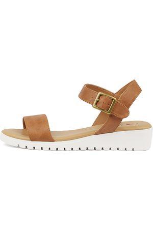 I LOVE BILLY Women Flat Shoes - Mickys Tan Sandals Womens Shoes Sandals Flat Sandals