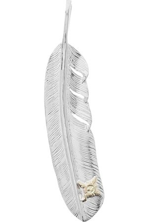 First Arrows Right Sided Logo Feather Pendant