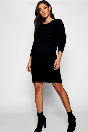 Boohoo Maternity Soft Knit Sweater Dress