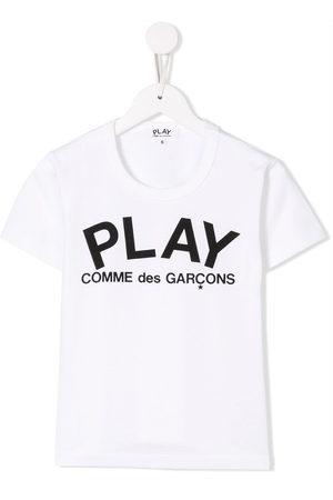 Comme des Garçons Lettering logo print T-shirt