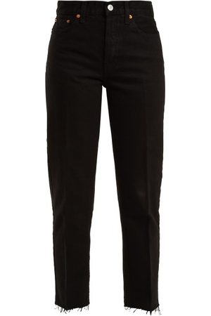 RE/DONE Stove Pipe High Rise Jeans - Womens