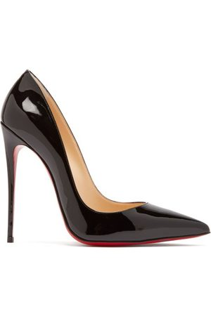 Christian Louboutin Women Heels - So Kate 120 Patent Leather Pumps - Womens