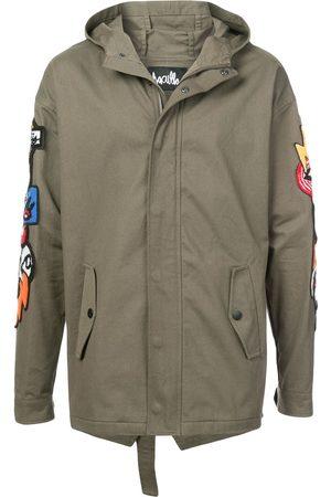 HACULLA Men Coats - Hacmania patch hooded coat