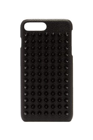 Christian Louboutin Loubiphone Spike Leather Iphone® 7+/8+ Case - Mens
