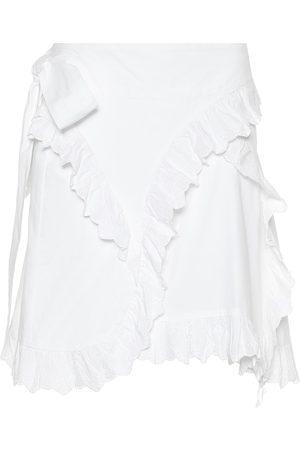 Isabel Marant, Étoile Milou embroidered cotton miniskirt