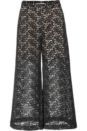 Stella McCartney Women Culottes - Cotton-blend lace culottes