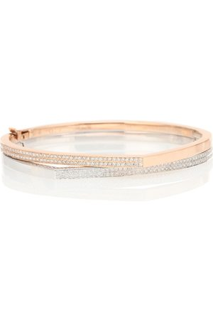 Repossi Exclusive to Mytheresa – Antifer rose gold and bracelet with diamonds