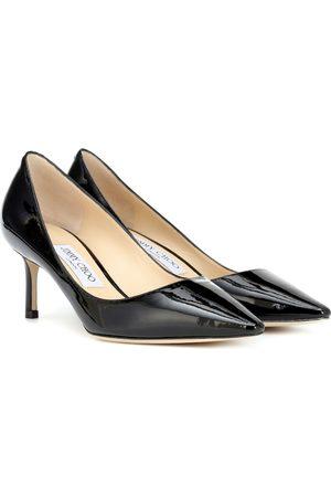 Jimmy choo Women Heels - Romy 60 patent leather pumps