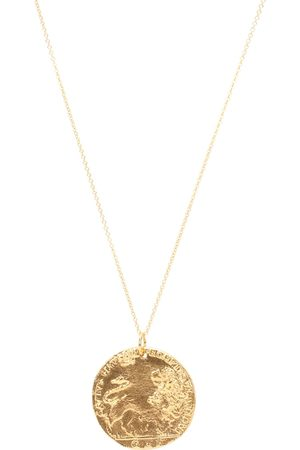 Alighieri Il Leone 24kt -plated necklace