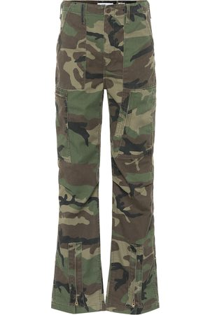 RE/DONE High-rise cargo pants