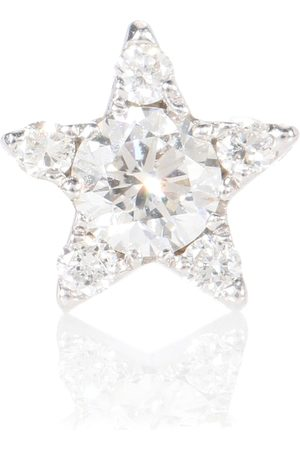 Maria Tash Diamond Star 18kt gold and diamond single earring