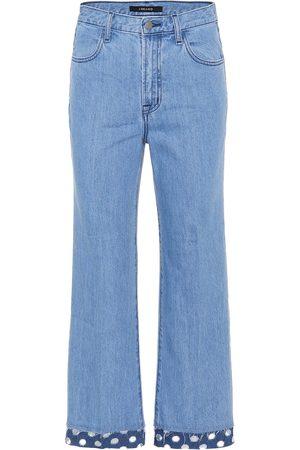 J Brand Joan high-rise wide-leg jeans