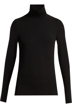 Wolford Aurora Roll-neck Jersey Top - Womens