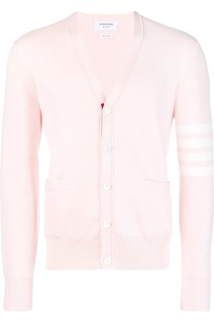 Thom Browne Men Cardigans - 4-Bar Milano Stitch Cardigan