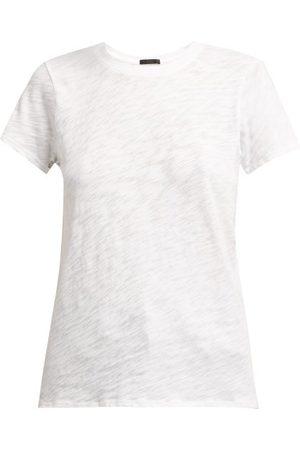 ATM Anthony Thomas Melillo Round Neck Cotton Slub Jersey T Shirt - Womens