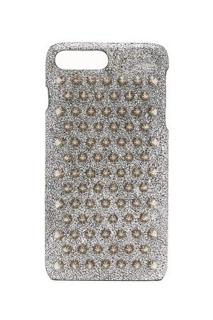 Christian Louboutin Loubiphone Metallic Leather Iphone® 7+ & 8+ Case - Womens