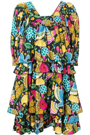 La DoubleJ Colombo Grande printed dress