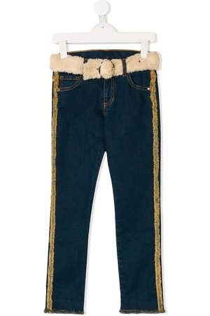 Le pandorine Belted jeans
