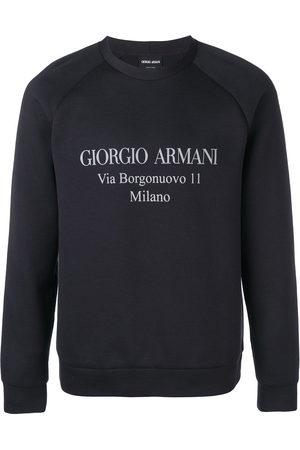 Armani Men Sweatshirts - Logo sweatshirt