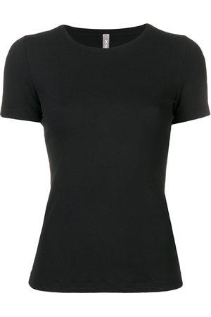 NO KA' OI Women T-shirts - Tape sleeve tee