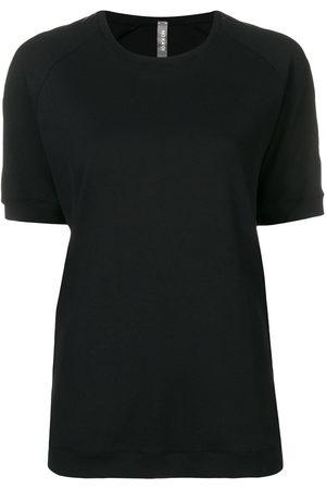 NO KA' OI Taped sleeve T-shirt