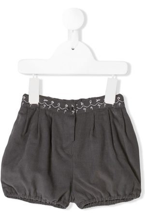 KNOT Shorts - Embroidered corduroy shorts